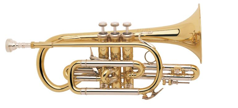 Bb cornet Stradivarius large bore