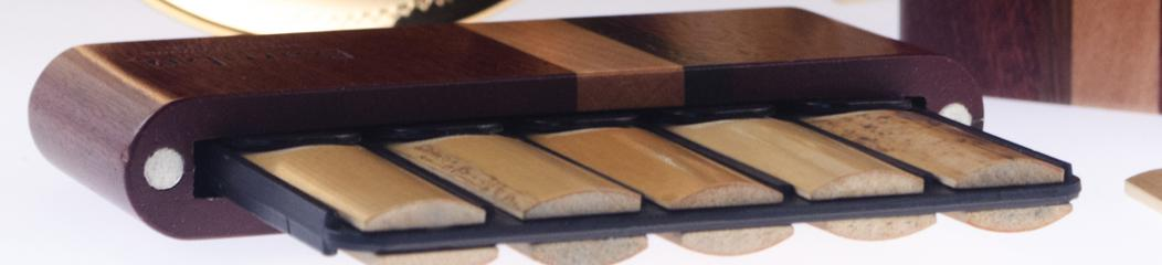 Wood case for Clarinet reeds