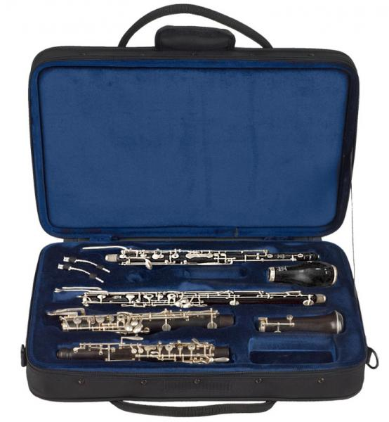 Oboe & english horn combination case