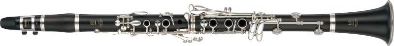 Clarinet grenadilla Duet+, silver plated keys